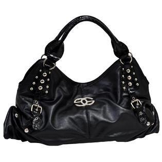 a322692000 Parinda ELIZA 02105 Croco Embossed Faux Leather Large Handbag