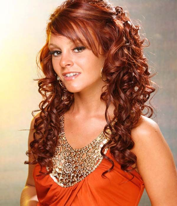 Half Up Half Down Homecoming Hairstyles | Prom hairstyles ...