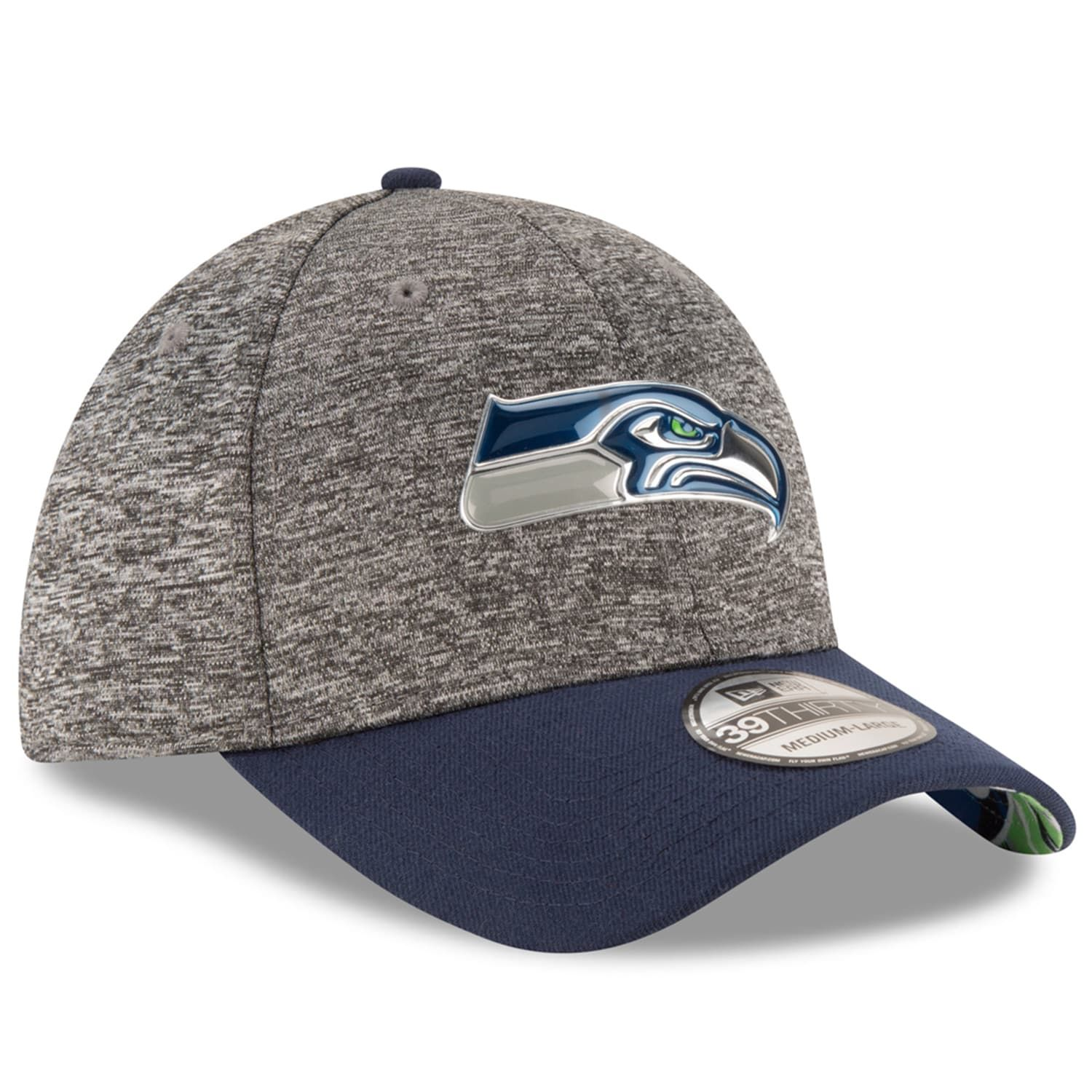 60938230924 Adult New Era Seattle Seahawks 2016 NFL Draft 39THIRTY Flex-Fit Cap   Seahawks