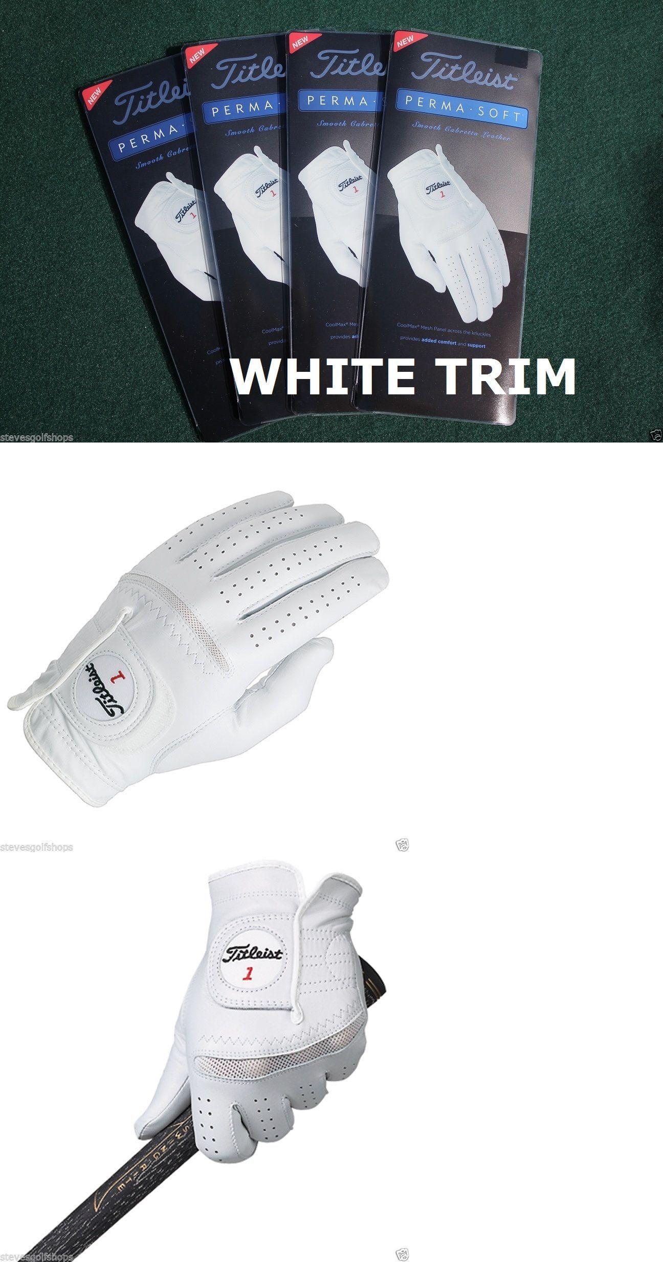 Mens gloves cadet - Golf Gloves 181135 4 New Titleist 2016 Perma Soft Golf Gloves Mens Cadet Large
