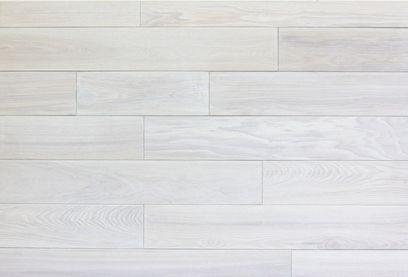 White hardwood floors  Kikis ConDo  White hardwood
