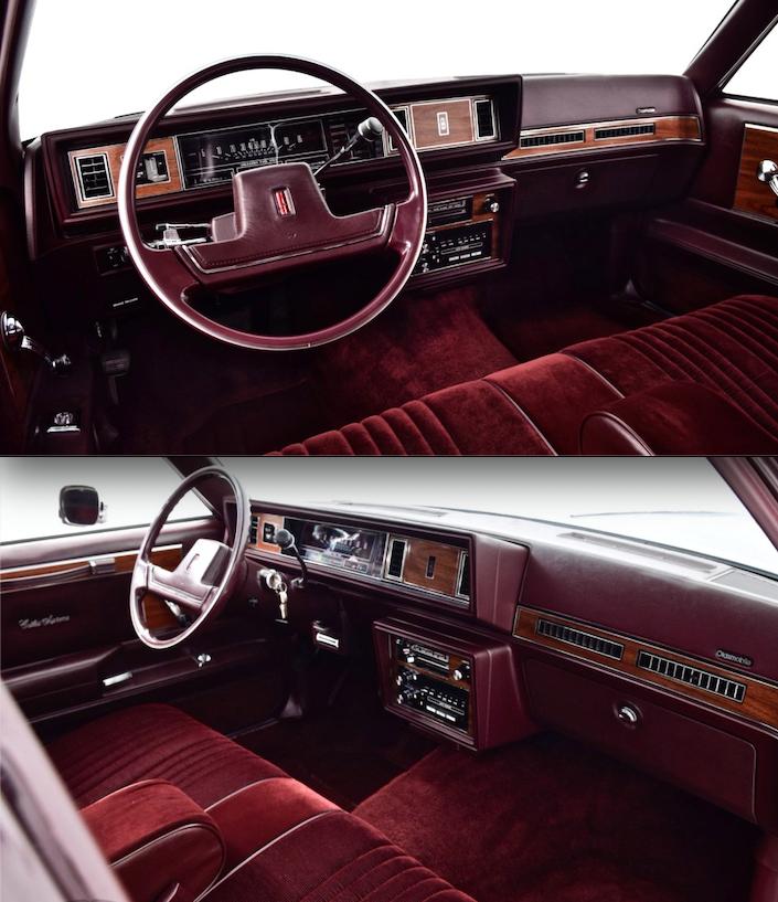 Olds Cutlass Supreme Sedan Interior Oldsmobile Cutlass Supreme Oldsmobile Cool Car Pictures