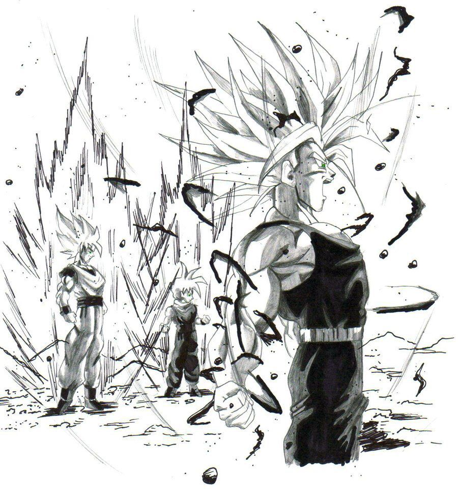ssj goku,gohan,and trunks by trunks24 on @DeviantArt | Dragon Ball ...