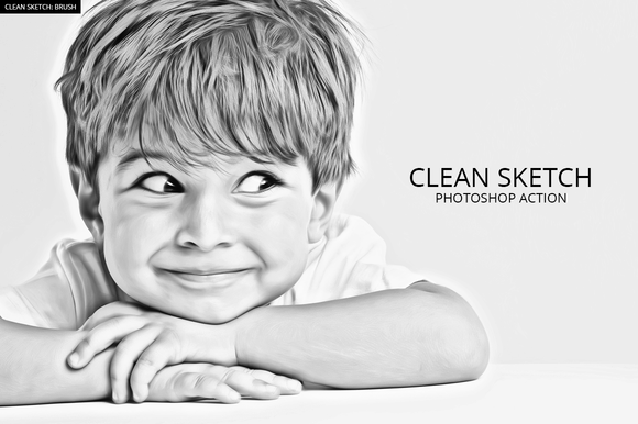 Actions sketch photoshopphotoshop actionslightroompen sketchpencil