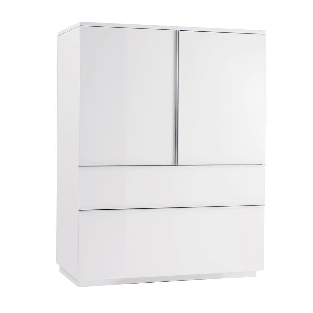 Dwell   Madison Storage Cupboard White