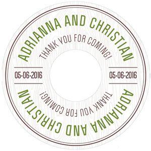 woodland personalized wedding cd