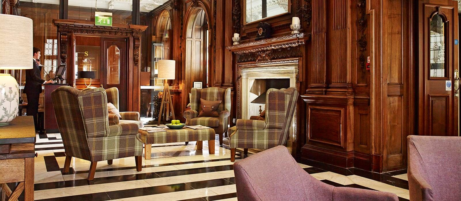 The Five Star Scotsman Hotel In Edinburgh A Luxury Boutique Famous World Over For Leading First Cl Services And Outstanding Guest