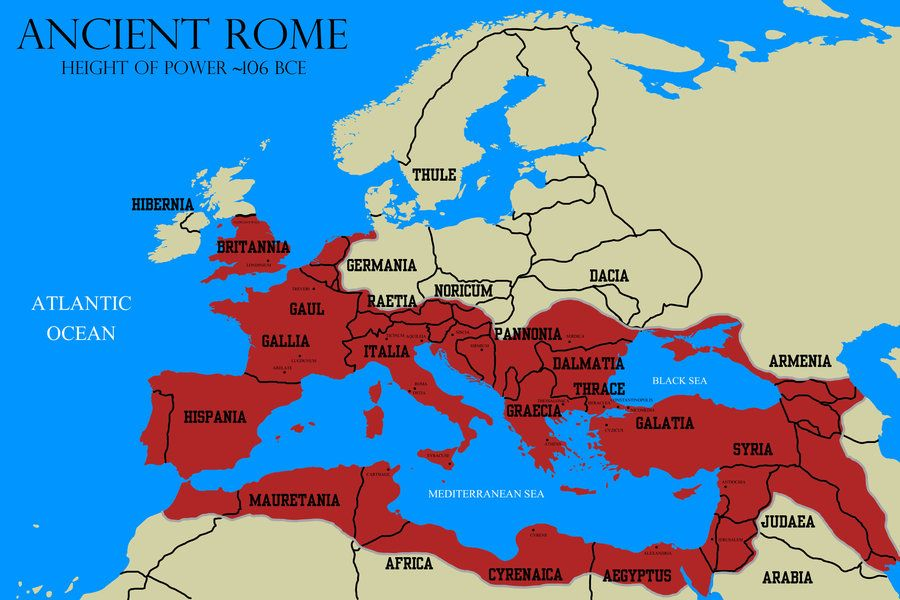 Picture ROME Pinterest Ancient Rome And Rome - Egypt and rome map