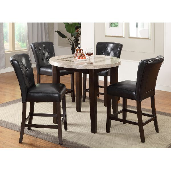 Pub Table Contemporary Montreal 40 Counter Height Dining Table Set Counter Height Dining Table Dining Room Sets