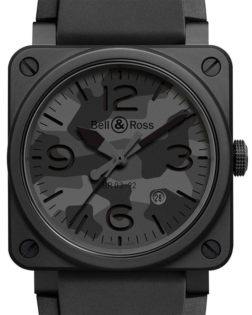 Bell Ross Br 03 92 Black Camo Watch Ablogtowatch Bell Ross Bell Ross Best Watches For Men