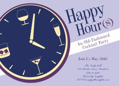 Happy Hour Invitation