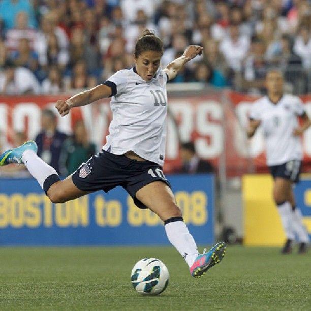 Carli Lloyd Ussoccer Instagram Usa Soccer Women Play Soccer Women S Soccer Team