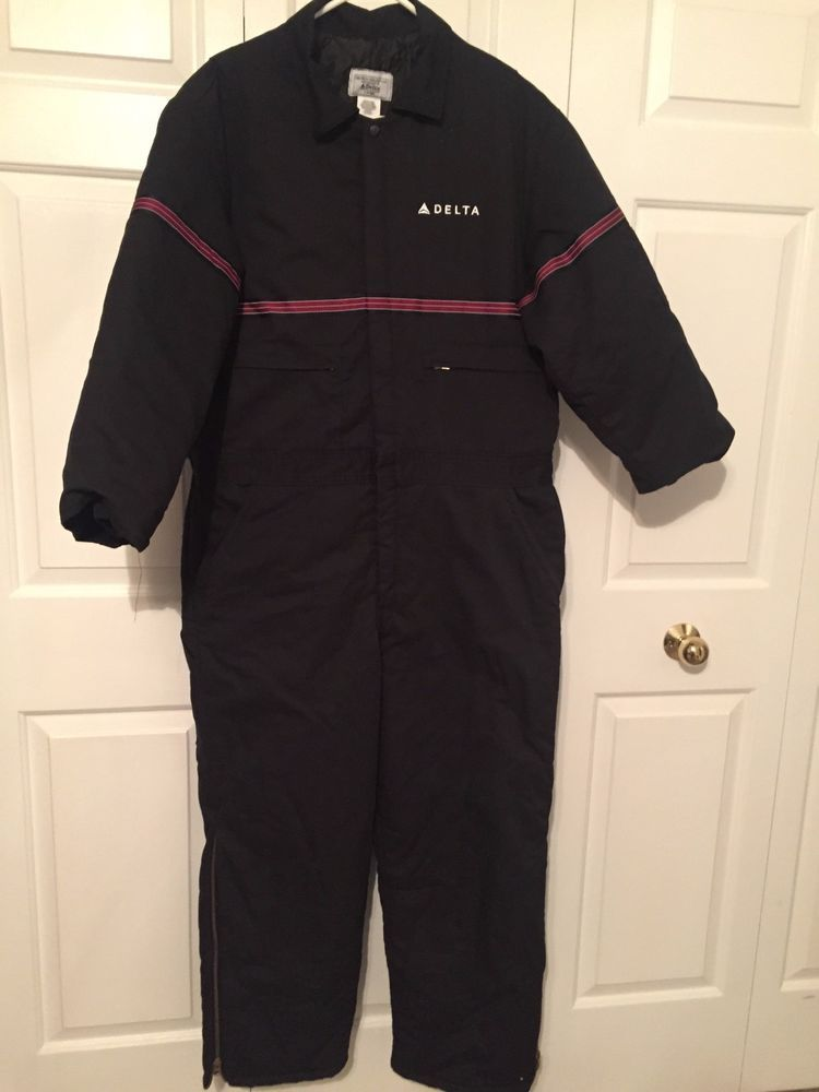 Delta Airlines Ground Crew Uniform JumpSuit Coveralls