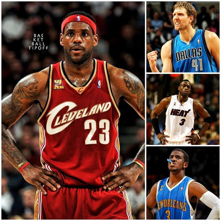 2fb267f0f421 Greatest Players Currently In The NBA  1. LeBron James 2. Dirk Nowitzki 3