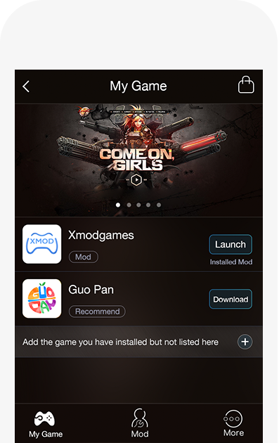 Xmodgames-The best free game mod center | xmod | Free games