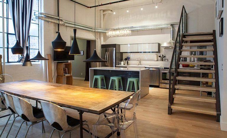 Eenvoudige Industrieel Woonkamer : Industrieel interieur ideeën inspiratie tokyoughoul re kousatu