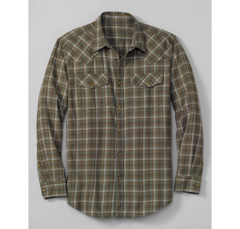 Classic Fit Elkhorn® Plaid Shirt Eddie Bauer Menswear