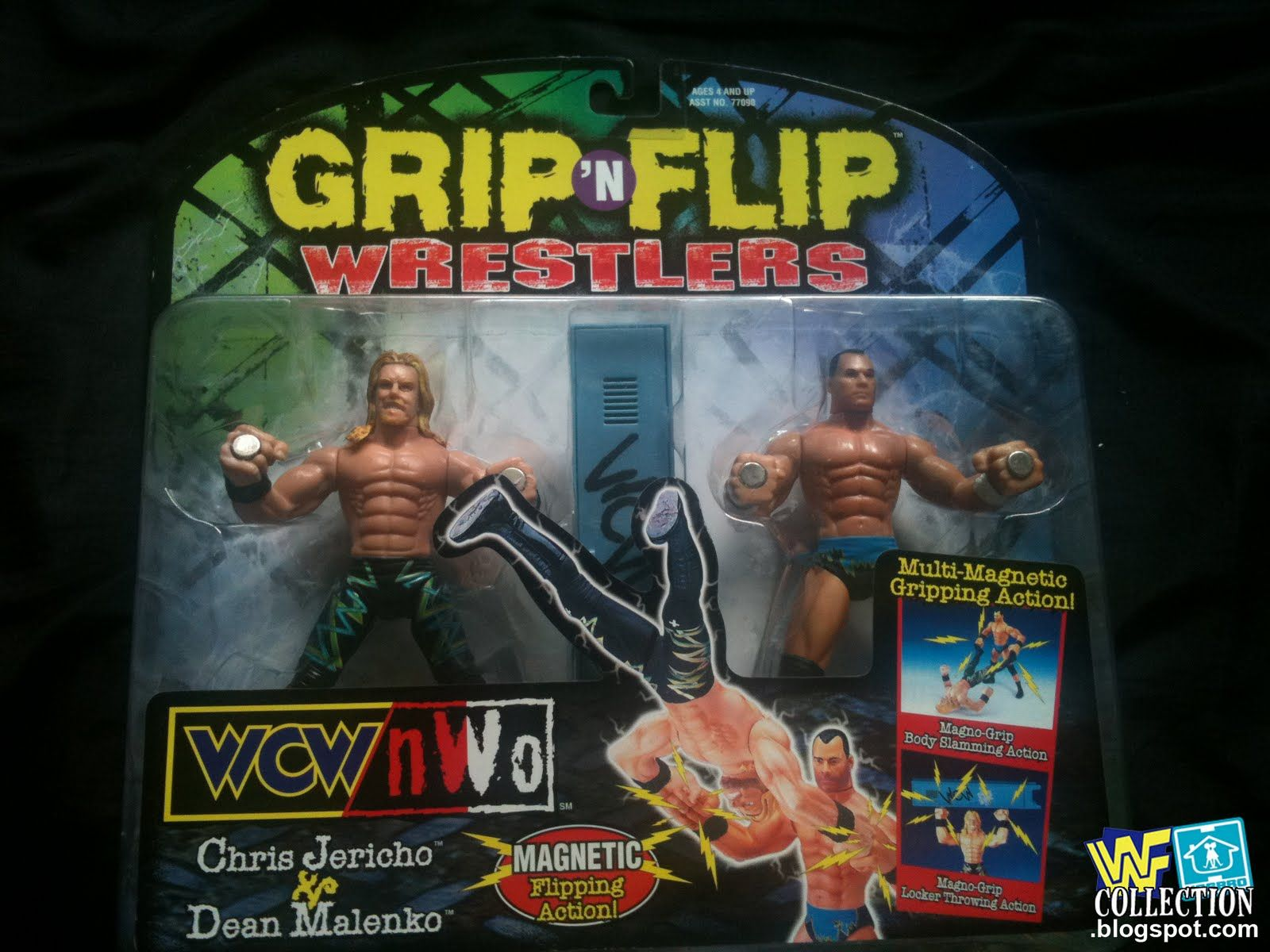 Grip & Flip Wrestlers - Chris Jericho and Dean Malenko | Dean ...