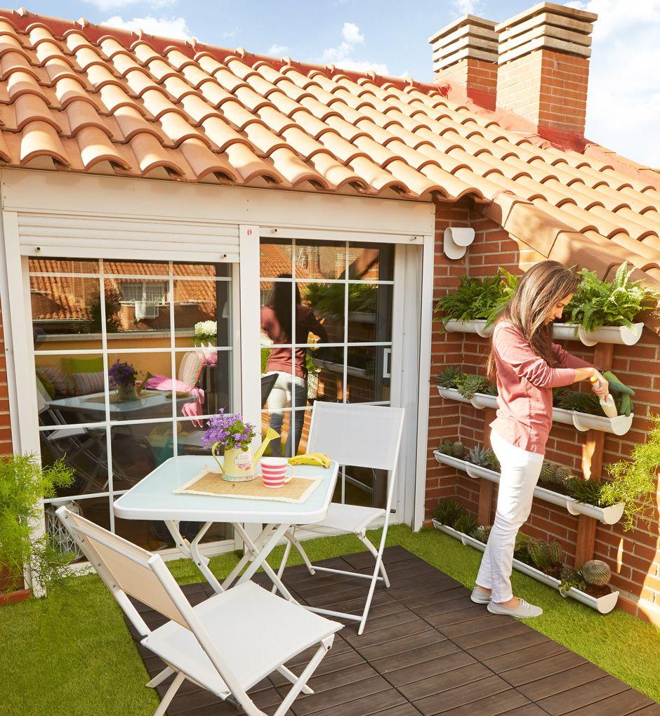 Aprovecha El Paraiso En Tu Terraza O Jardin Leroy Merlin Terraza Decoracion De Interiores Living Decoracion De Exteriores