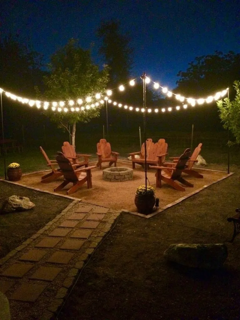 Photo of 75 fire pit ideas and designs for your backyard | kevoin.com #firepit #firepitid…