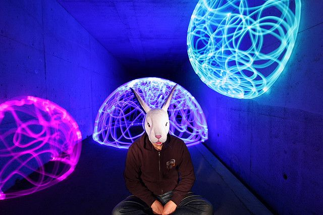 Light Painting Artist Trevor Williams, TDUB303, Fiz Iks | Light Painting  Photography