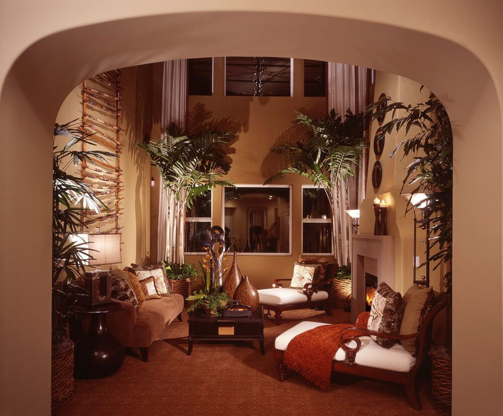 10 Most Popular Tropical Living Room Decorations