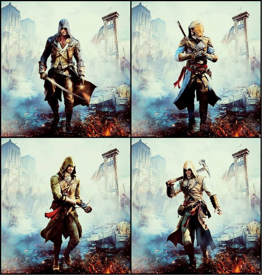 Assassin's Creed Unity Assassins Banner Poster by MatrixUnlimited