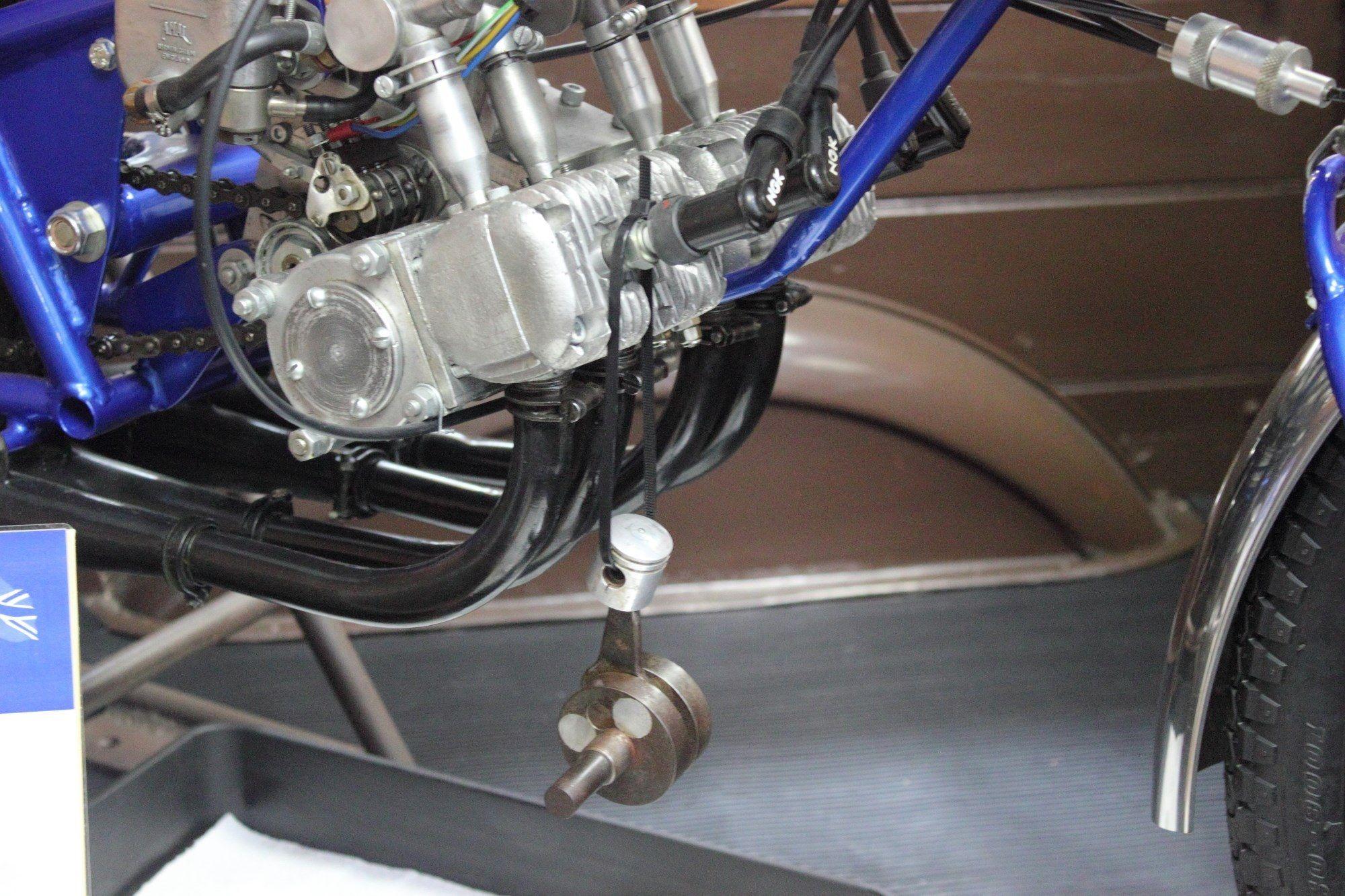 Suzuki 4 Cylinder 50cc Race Bik