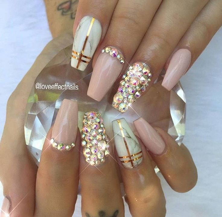 Bling nails | Nails | Pinterest | Bling nails