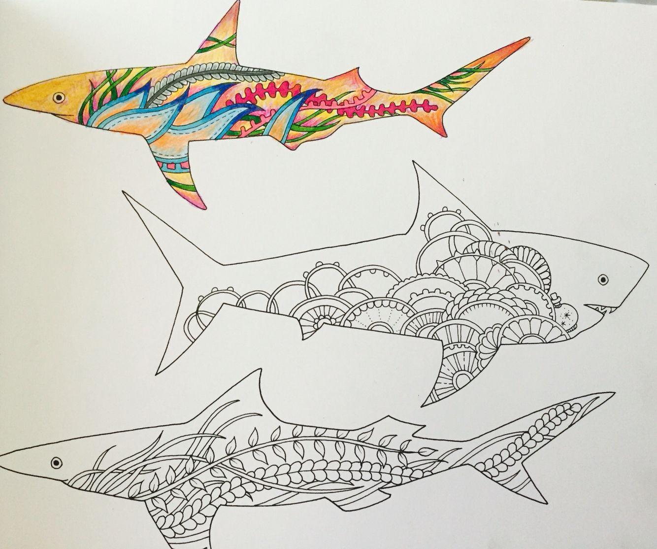 The Lost Ocean Color Pencil TechniquesColoring BooksAdult