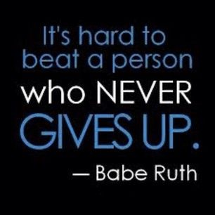 Babe Ruth Quotes Quotethe Great Babe Ruth  Wise Words  Pinterest  Psychology