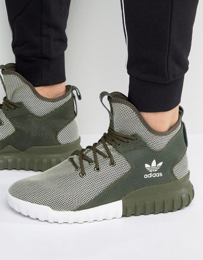 aef483bc29c6 adidas Tubular X Sneakers In Night Cargo BA7781