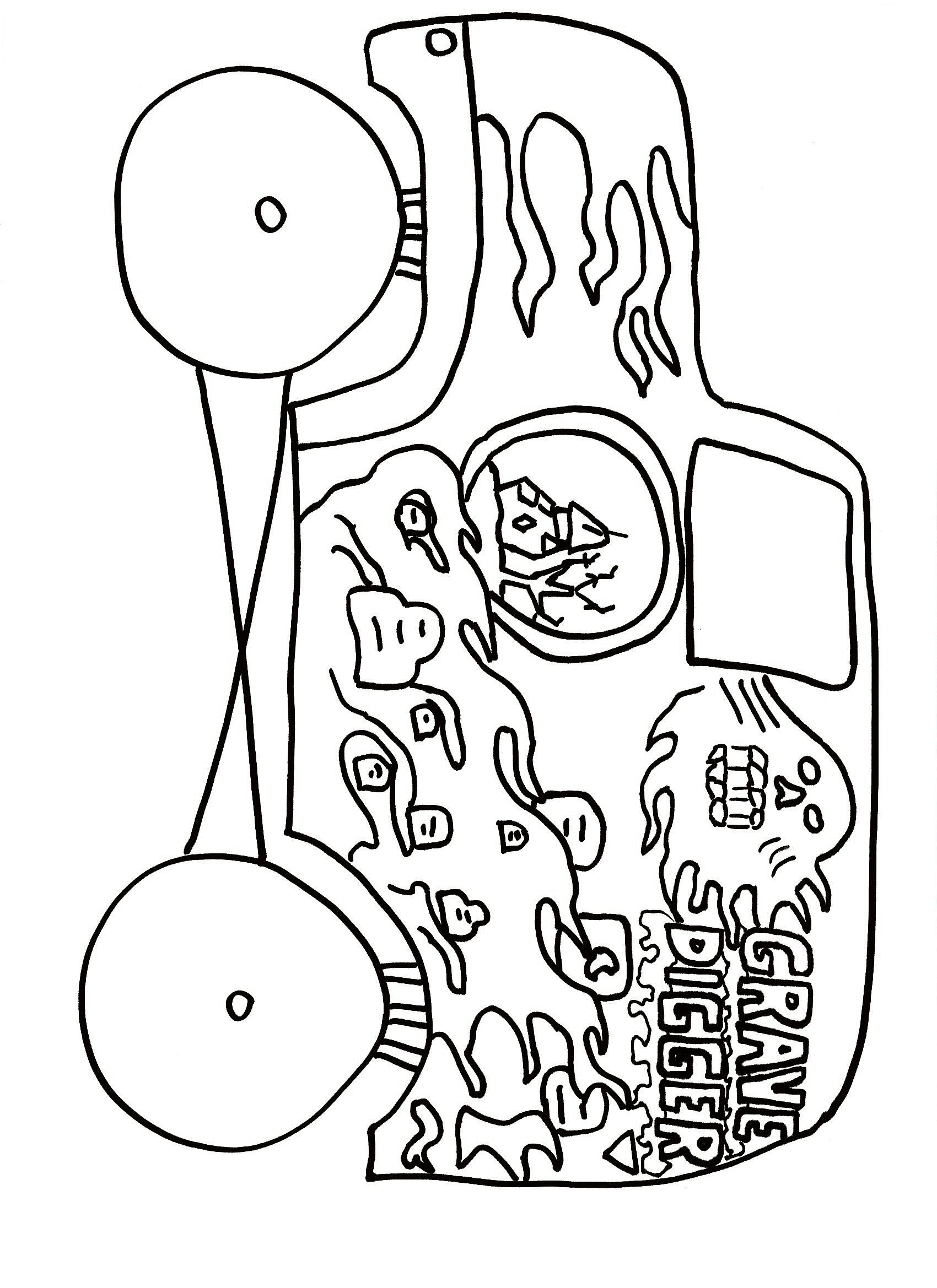 17 best images about coloring pages on kids 45 monster truck coloring pages transportation printable grave digger - Grave Digger Truck Coloring Pages