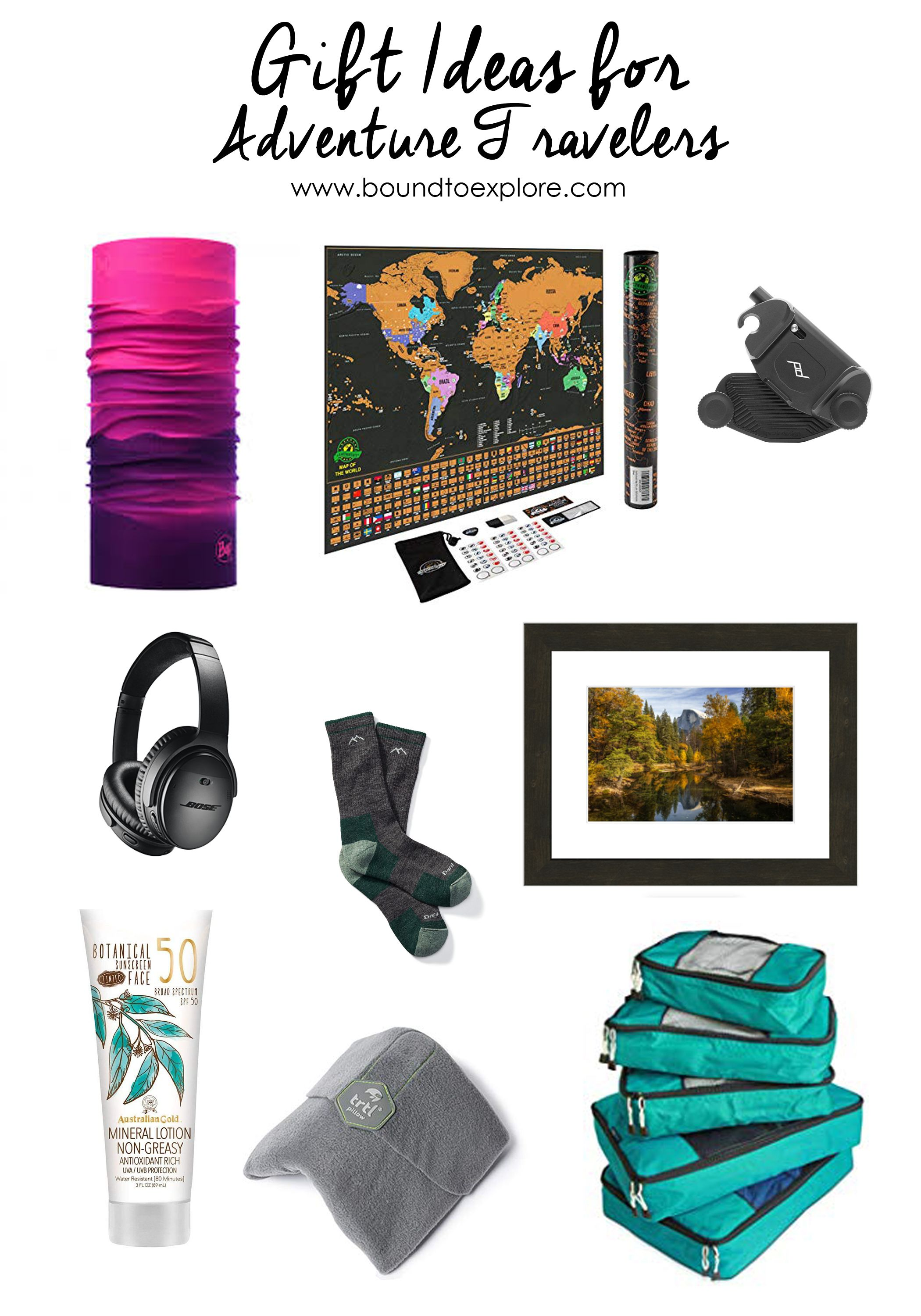 Affordable and luxury gift ideas for adventure travelers