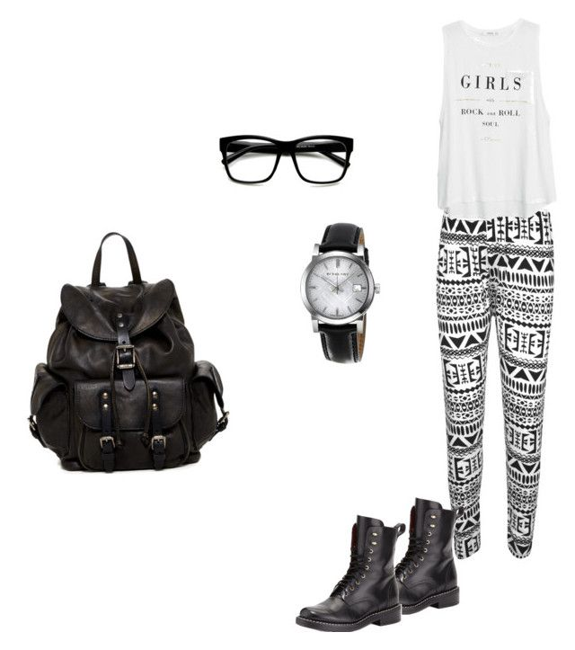 """""""Untitled #1"""" by ilovejaymond ❤ liked on Polyvore featuring beauty, WearAll, rag & bone, MANGO, Burberry, Retrò and Frye"""