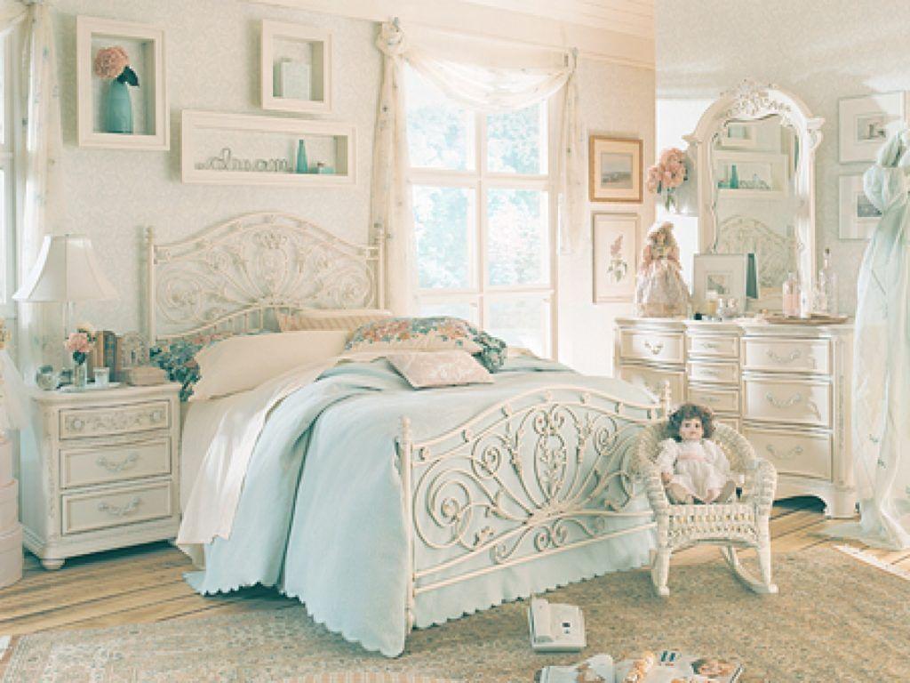 Unique  Coolest White Vintage Bedroom vintage bedroom furniture