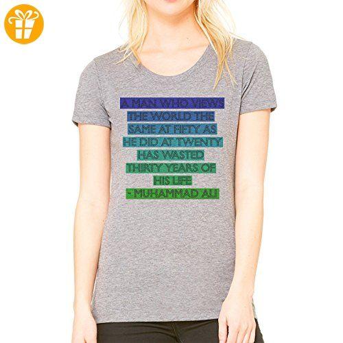 Muhammad Ali Quote XXL Damen T-Shirt (*Partner-Link)