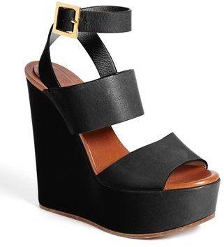 cc9785d5da3 Chloé 'Central' Wedge Sandal on shopstyle.com   I Pledge to the ...