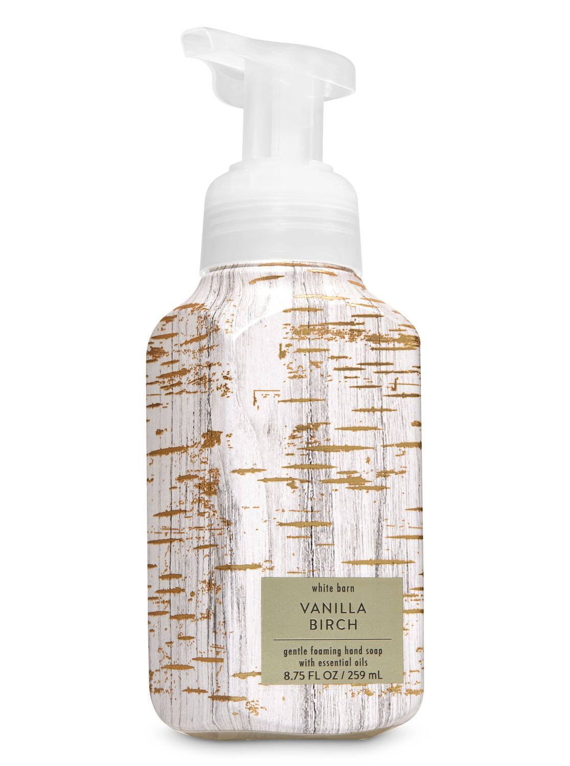 Vanilla Birch Gentle Foaming Hand Soap By Bath Body Works