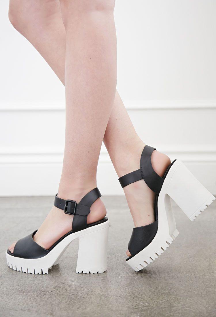 2e608d90bb Lug Sole Platform Sandals | Forever 21 - 2000053719 | pretty things ...