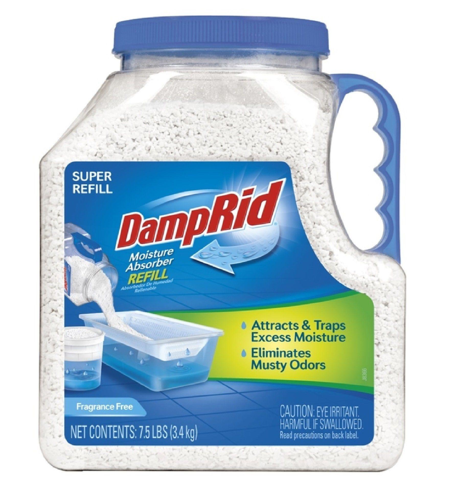 Damp rid fg37 moisture absorber refill 75 lb damp rid