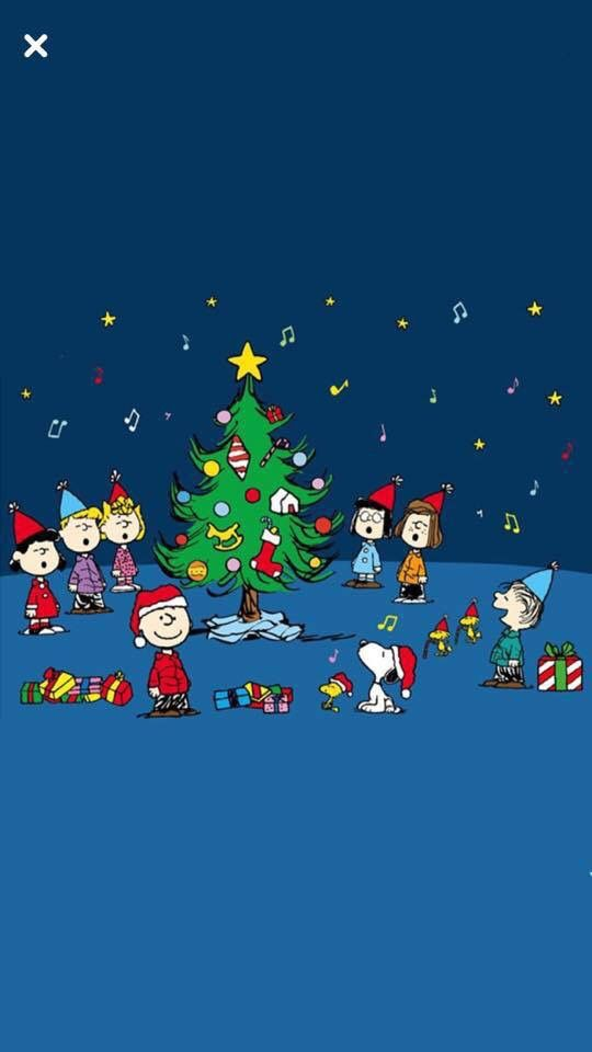 Charlie Brown Christmas With Images Snoopy Wallpaper
