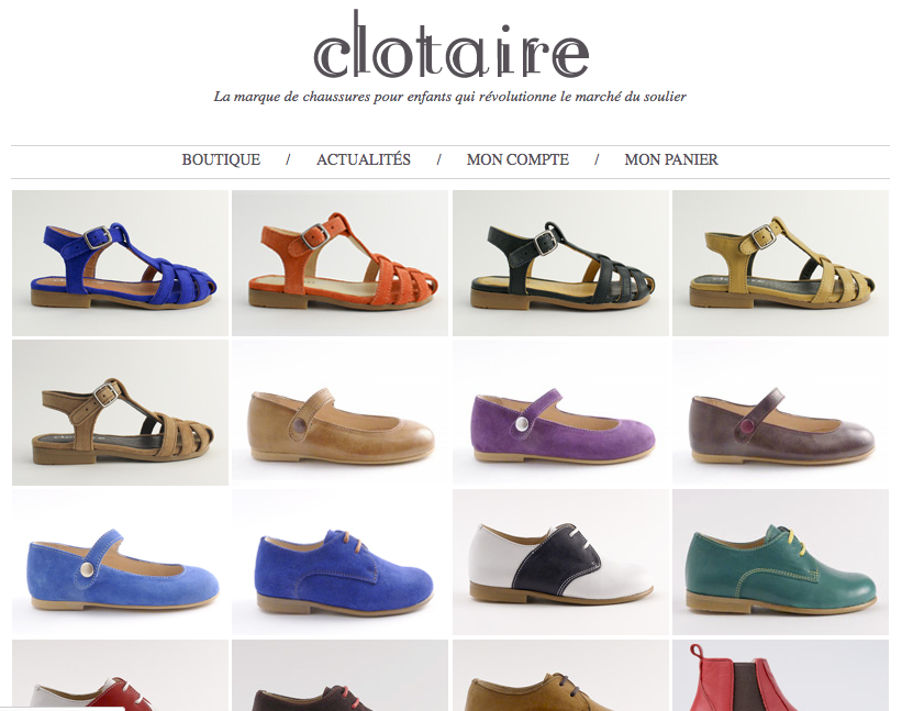 New collection / available now / from 59€ / www.chaussuresclotaire.com