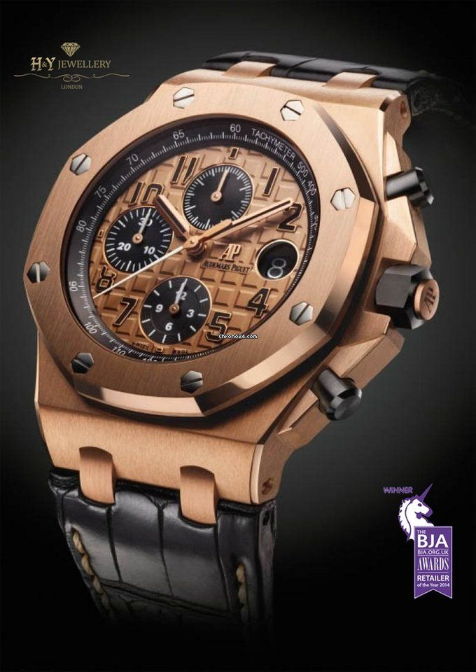 14940470ecd8d Chrono24 DEALER AREA..Audemars Piguet Royal Oak Offshore Chronograph Rose  Gold - ref 26470OR.OO.A002CR.01