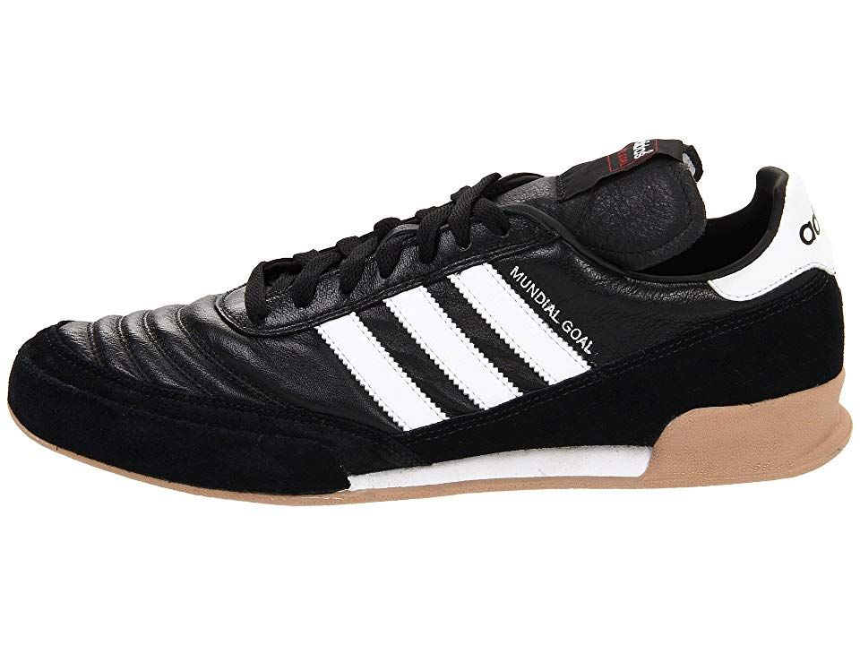 cheap for discount 21bb4 df156 adidas Mundial Goal Men s Soccer Shoes Black Running White