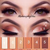 Photo of 23 Deep Set Eyes Makeup To Bring Your Beauty Out  Nude Smokey Eyes #matteshadow …