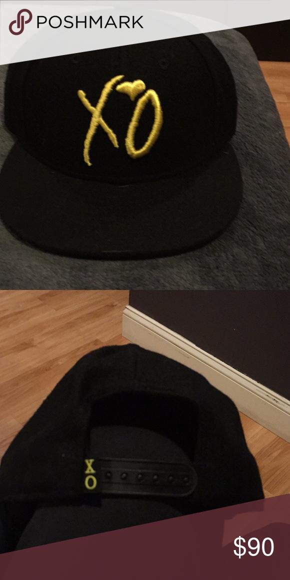 XO The Weeknd rare Snapback new era Brand new da6a7877f182