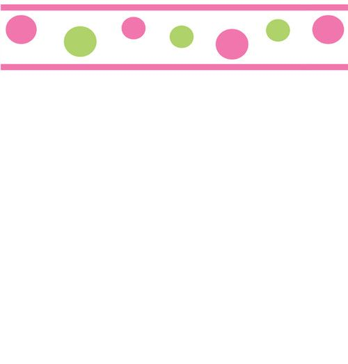 Add Spunk To Your Room With These Circles And Dots Pink Lime Green