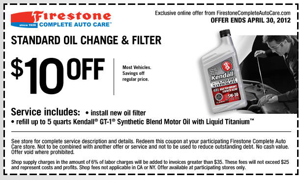 Firestone Deal Free Printable Coupons
