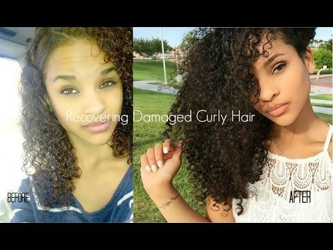 how to recover curly hair from heat color damage my hair